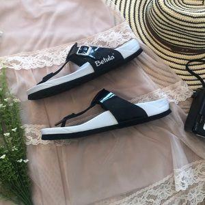 Betula Birkenstock Black Birks Sandals Sz Ladies 7